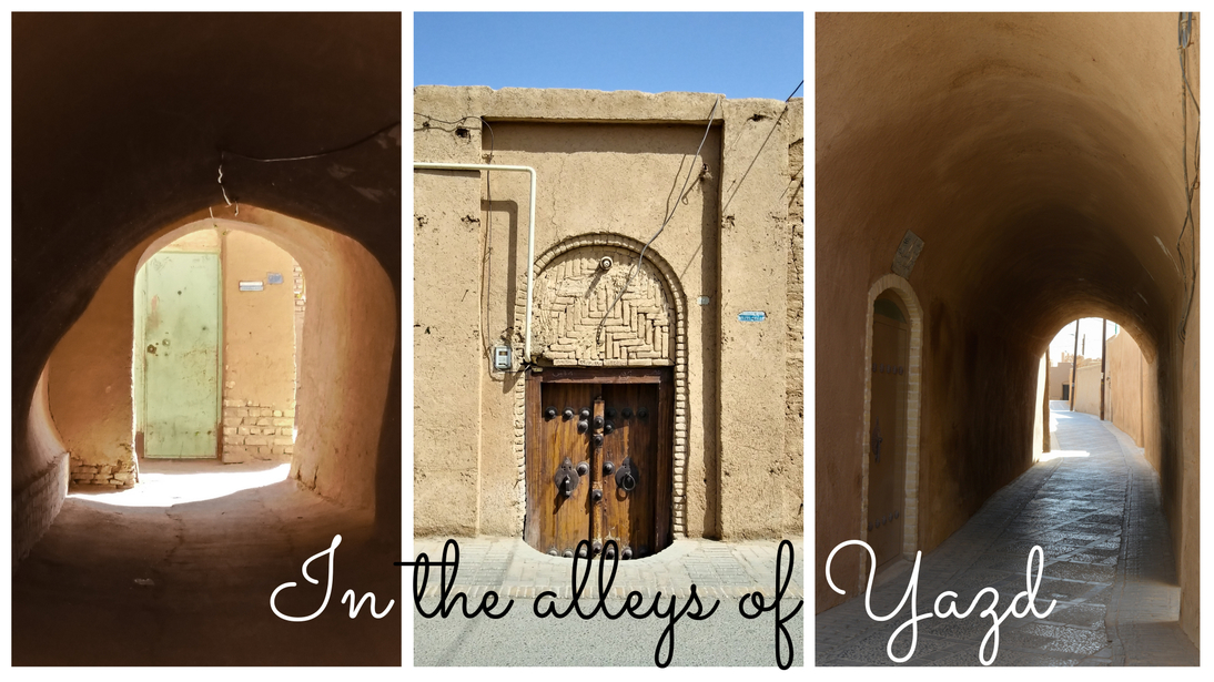 In the alleys of Yazd