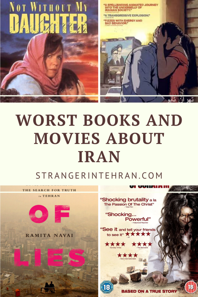 Worst books and movies about Iran